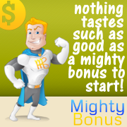 mighty sign-up bonus offers - online casinos, poker rooms, bingo rooms, sportsbooks, forex and binary options brokers